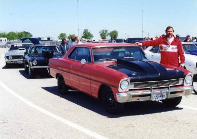 Jack and his 1966 Chevy II