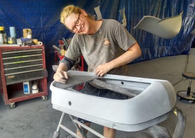Jenn Sanding 1932 Ford Fiberglass Grill Surround