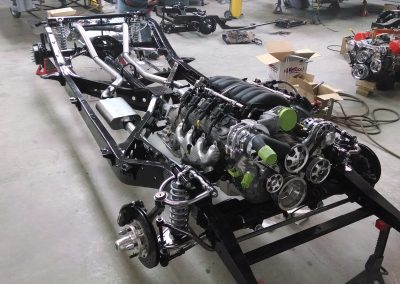 6.2 Small Block LS3 with custom Independent Front Suspension