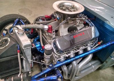 1937 Chevy Roadster with a Louis Boyd 565 Big Block Chevy