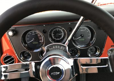 1970 Chevy Pickup with upgraded gauges