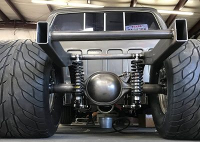 1986 Chevy Pickup Backhalf with Mickey Thompson Pro Street Tires