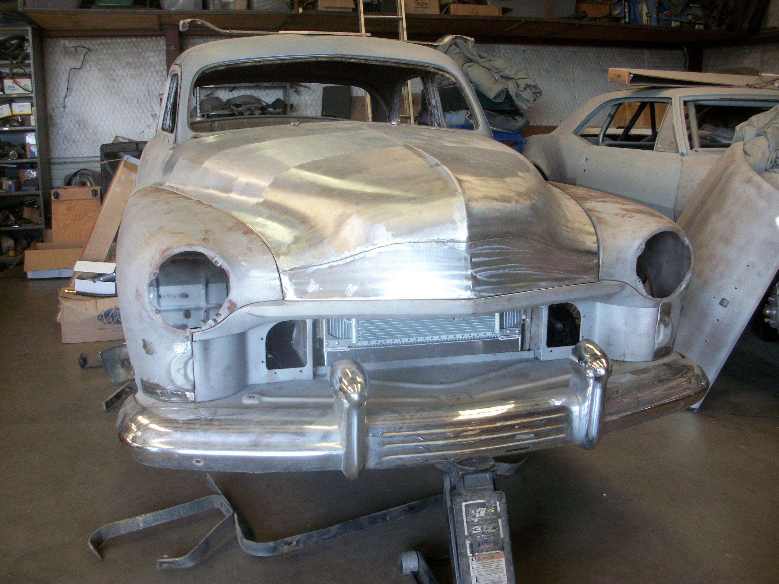 1951 Mercury Sedan Metal Restoration