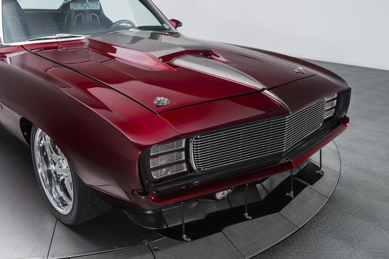 1969 Camaro Two-Tone Tri-Coat Stinger Hood