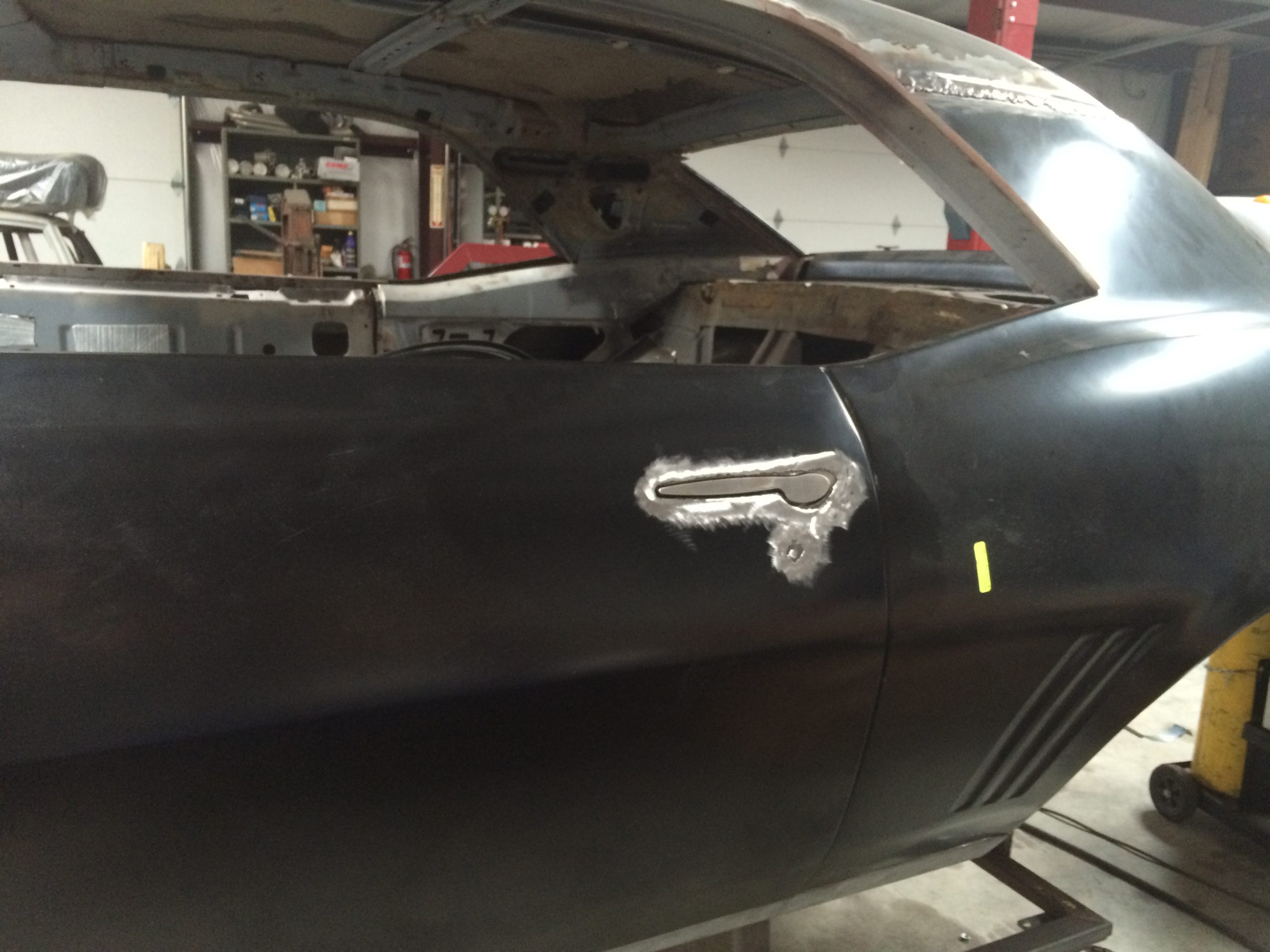1969 Camaro Metal Restoration Shaved Handles